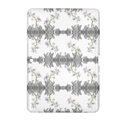 Floral Collage Pattern Samsung Galaxy Tab 2 (10 1 ) P5100 Hardshell Case