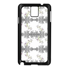 Floral Collage Pattern Samsung Galaxy Note 3 N9005 Case (black)
