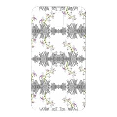 Floral Collage Pattern Samsung Galaxy Note 3 N9005 Hardshell Back Case