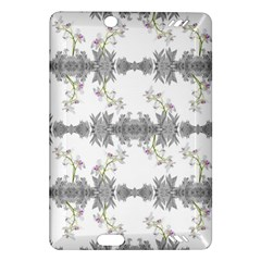 Floral Collage Pattern Amazon Kindle Fire Hd (2013) Hardshell Case