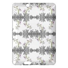 Floral Collage Pattern Kindle Fire Hdx Hardshell Case