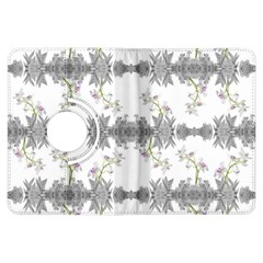 Floral Collage Pattern Kindle Fire Hdx Flip 360 Case