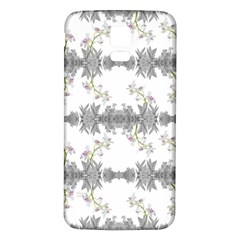 Floral Collage Pattern Samsung Galaxy S5 Back Case (white)