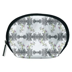 Floral Collage Pattern Accessory Pouches (medium)