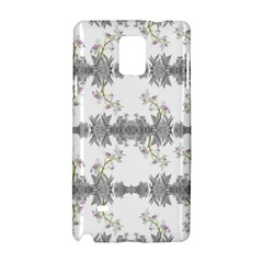 Floral Collage Pattern Samsung Galaxy Note 4 Hardshell Case
