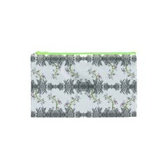 Floral Collage Pattern Cosmetic Bag (xs)