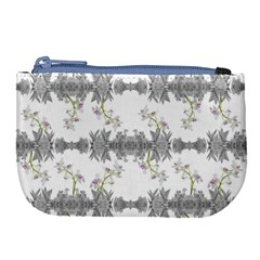 Floral Collage Pattern Large Coin Purse