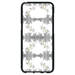 Floral Collage Pattern Samsung Galaxy S8 Black Seamless Case