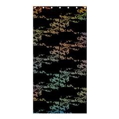 Birds With Nest Rainbow Shower Curtain 36  X 72  (stall)