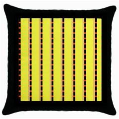 Pattern Background Wallpaper Banner Throw Pillow Case (black)