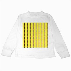 Pattern Background Wallpaper Banner Kids Long Sleeve T Shirts