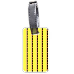 Pattern Background Wallpaper Banner Luggage Tags (two Sides)