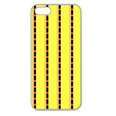 Pattern Background Wallpaper Banner Apple Seamless Iphone 5 Case (clear)