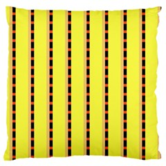 Pattern Background Wallpaper Banner Large Flano Cushion Case (one Side)