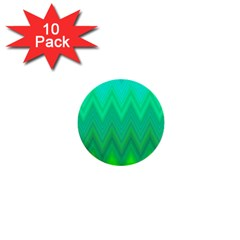 Zig Zag Chevron Classic Pattern 1  Mini Buttons (10 Pack)