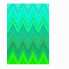 Zig Zag Chevron Classic Pattern Large Garden Flag (two Sides)