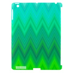Zig Zag Chevron Classic Pattern Apple Ipad 3/4 Hardshell Case (compatible With Smart Cover)