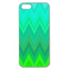 Zig Zag Chevron Classic Pattern Apple Seamless Iphone 5 Case (clear)