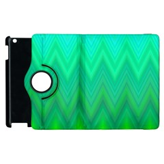Zig Zag Chevron Classic Pattern Apple Ipad 2 Flip 360 Case