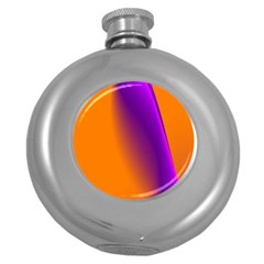 Lines Network The Ribbon Red Round Hip Flask (5 Oz)