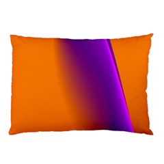 Lines Network The Ribbon Red Pillow Case (two Sides)