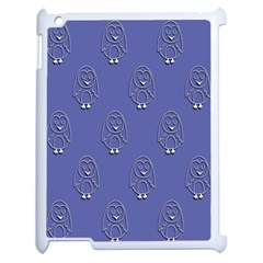 Owl Pattern Wallpaper Vector Apple Ipad 2 Case (white)