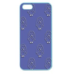 Owl Pattern Wallpaper Vector Apple Seamless Iphone 5 Case (color)