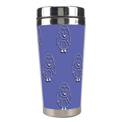 Owl Pattern Wallpaper Vector Stainless Steel Travel Tumblers