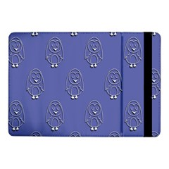 Owl Pattern Wallpaper Vector Samsung Galaxy Tab Pro 10 1  Flip Case