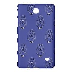 Owl Pattern Wallpaper Vector Samsung Galaxy Tab 4 (8 ) Hardshell Case