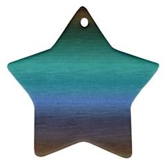 Ombre Ornament (star)