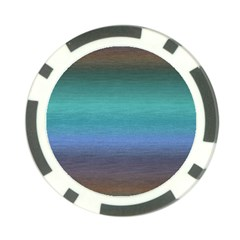 Ombre Poker Chip Card Guard