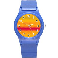 Ombre Round Plastic Sport Watch (s)