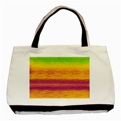 Ombre Basic Tote Bag (two Sides)