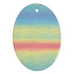 Ombre Oval Ornament (two Sides)