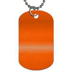 Ombre Dog Tag (one Side)