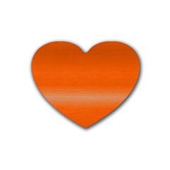 Ombre Rubber Coaster (heart)
