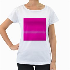 Ombre Women s Loose Fit T Shirt (white)