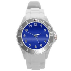 Ombre Round Plastic Sport Watch (l)
