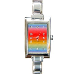 Ombre Rectangle Italian Charm Watch