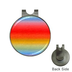 Ombre Hat Clips With Golf Markers