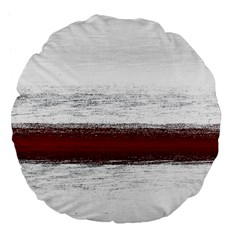 Ombre Large 18  Premium Flano Round Cushions