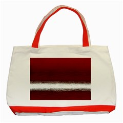 Ombre Classic Tote Bag (red)