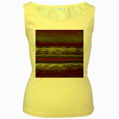 Ombre Women s Yellow Tank Top
