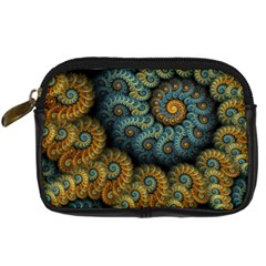 Spiral Background Patterns Lines Woven Rotation Digital Camera Cases