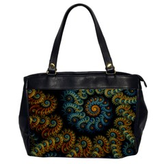 Spiral Background Patterns Lines Woven Rotation Office Handbags