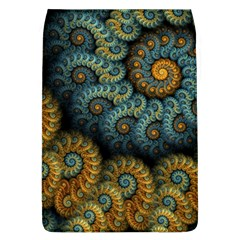 Spiral Background Patterns Lines Woven Rotation Flap Covers (l)