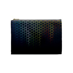 Abstract Resize Cosmetic Bag (medium)
