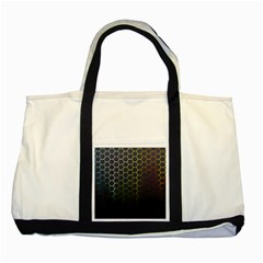 Abstract Resize Two Tone Tote Bag