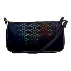 Abstract Resize Shoulder Clutch Bags